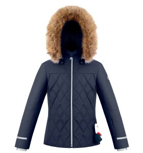 Quilted Ski Jacket   Gothic Blue