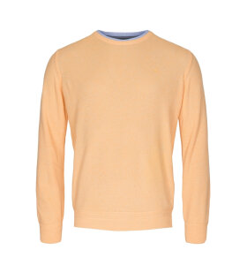 Sea Ranch/KW - ELMER SWEATER TIL HERRE | LEMON MELANGE
