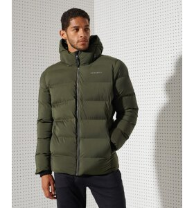 Superdry - Polstret Training Jakke | Army Khaki