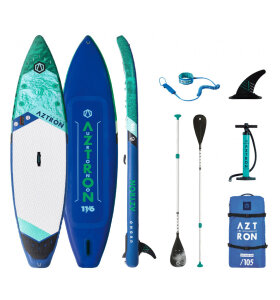 Aztron - URONO 11'6 OPPUSTELIGT SUP | GREEN/BLUE | 2021