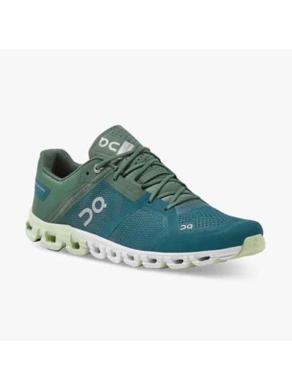 On - Cloudflow II Sneakers   Mænd   Sea/Petrol