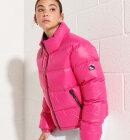 Superdry - Alpine Luxe Dunjakke   Kvinder   Cabaret Pink