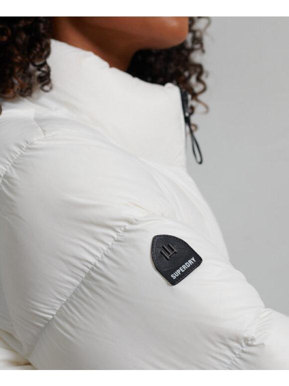 Superdry - Alpine Luxe Dunjakke | Kvinder | White