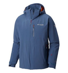 COLUMBIA MENS SNOW RIVAL JACKET | DARK MONTAIN